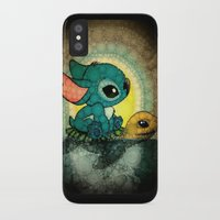 nori iPhone & iPod Cases featuring Stitch by NORI