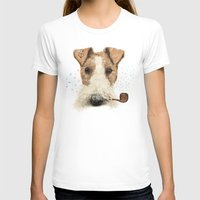 terrier T-shirts featuring fox terrier sailor by dogooder