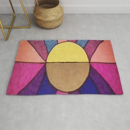 The Sun and the Moon Rug
