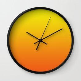 Bright sunrise Wall Clock