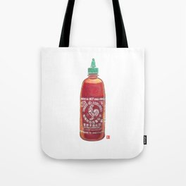 Sriracha Hot Sauce Tote Bag