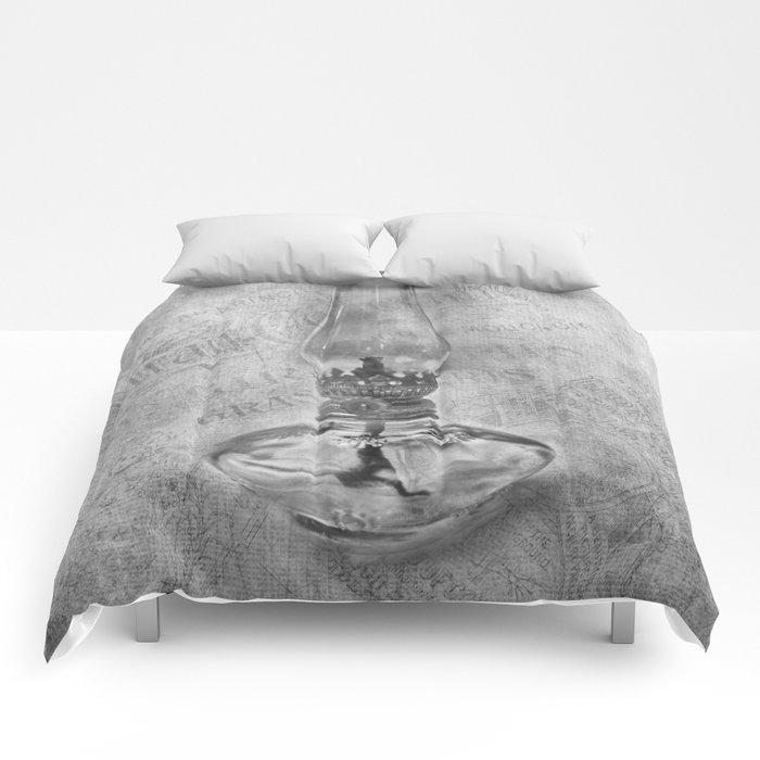 Still life - Kerosene Lamp Comforters