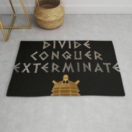 Doctor Who Dalek: Divide. Conquer. Exterminate! Rug