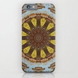 Colors of Rust, mandala 03 iPhone Case