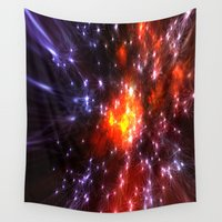 champagne Wall Tapestries featuring Champagne Supernova by Stars Live Forever