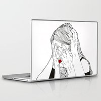 introvert Laptop & iPad Skins featuring Introvert 2 by Heidi Banford