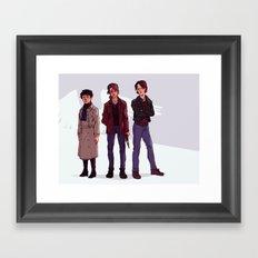 Team Free Will Framed Art Print