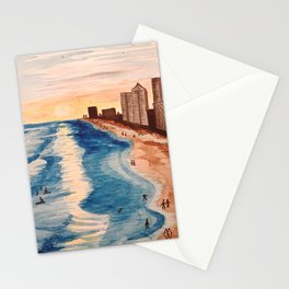 Sunset at Navarre Beach Condos Stationery Cards