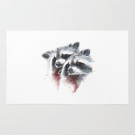 Raccoons I Rug