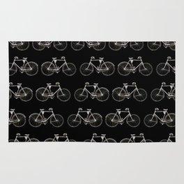 Vintage Bicycle Pattern Rug