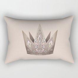 Crown, Queen, Princess Rectangular Pillow