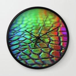 Rainbow Skin 2 Wall Clock