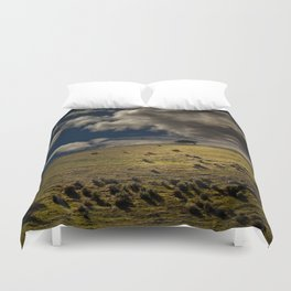 Lonely On Top Duvet Cover