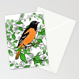 Oriole Song Bird Stationery Cards