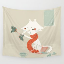 Running nose Wall Tapestry