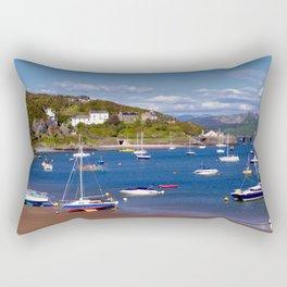 Barmouth Harbour Rectangular Pillow