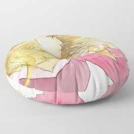 Princess Aurora Floor Pillow