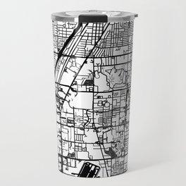 Las Vegas city map Travel Mug