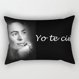 FRIA KAHLO LUZ Y SOMBRA 2 Rectangular Pillow