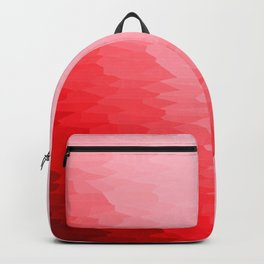 Red Texture Ombre Backpack