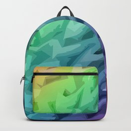 Rainbow Mermaid Skin Backpack