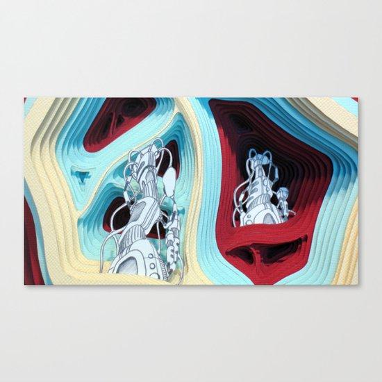 Hugg-a-Diddle Burs Canvas Print