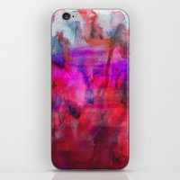 burgundy iPhone & iPod Skins featuring Burgundy by Georgiana Paraschiv