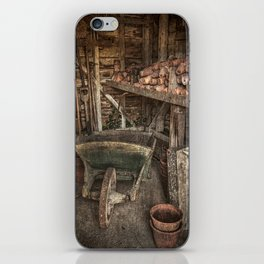 The Garden Shed iPhone Skin