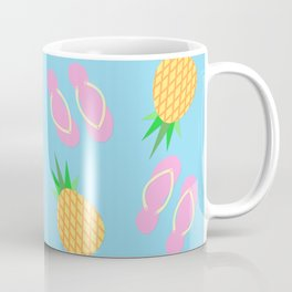 Pineapples & Flip Flops Coffee Mug