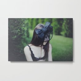 Her own world Metal Print