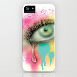 Last tear I shed for you iPhone Case