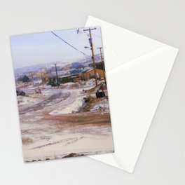 Out my window Stationery Cards