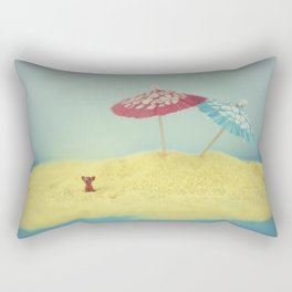 Doggy island Rectangular Pillow