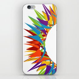 Explosion of Blooming Spring Colors iPhone Skin