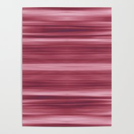 Abstraction Serenity in Rose Poster