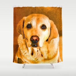 Oh PLEASE give me Cookies! Shower Curtain