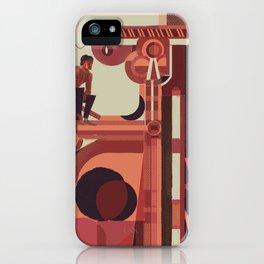 SKINWALKER Art 2 iPhone Case