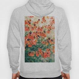 Echinacea flower field Hoody