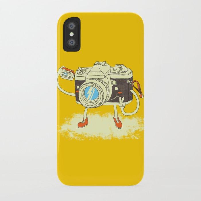 Self capture iPhone Case