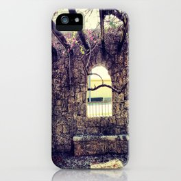 BEYOND THE WINDOW iPhone Case