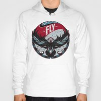 fly Hoodies featuring Fly by Andreas Preis