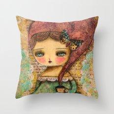 The Queen Marie Antoinette Throw Pillow
