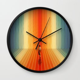 Summer, Here I Come Wall Clock