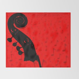 Classical Music Throw Blanket