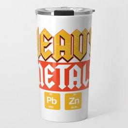 Metal Festival Science Uni Geology Gift Travel Mug