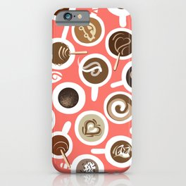 Gimme Coffee—Coffee Your Way | Coral iPhone Case
