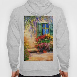 Blooming summer patio Hoody