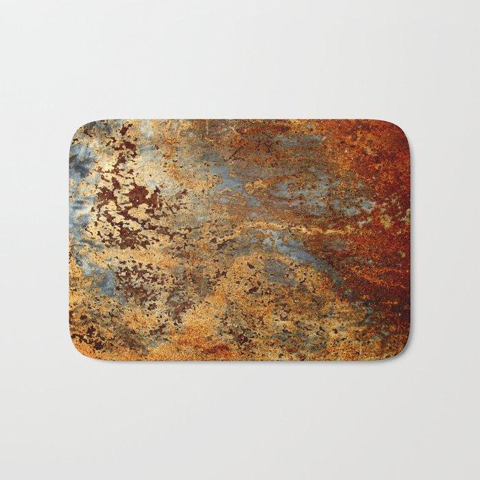 Beautiful Rust Badematte