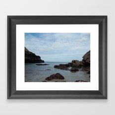 Out To Sea! Framed Art Print