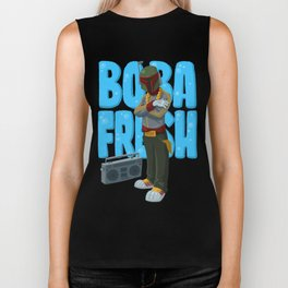 Boba Fresh Biker Tank